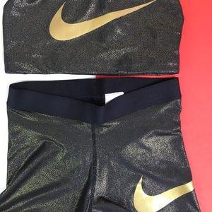 fba45d832f1c Nike Intimates   Sleepwear - Nike Pro Gold Set